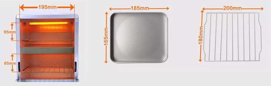 Dimenzije sterilizatora